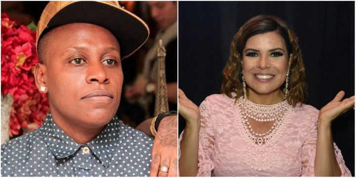A cantora Neném e a apresentadora Mara Maravilha