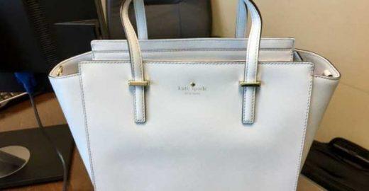 De que cor você vê esta bolsa?