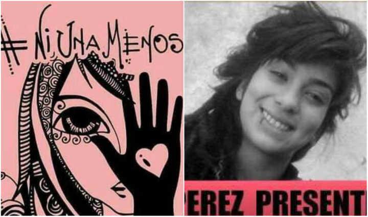 O movimento foi criado em resposta ao estupro brutal da adolescente Lucía Pérez