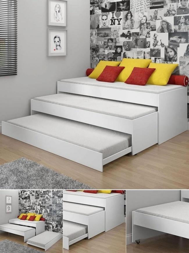 Uma cama modular