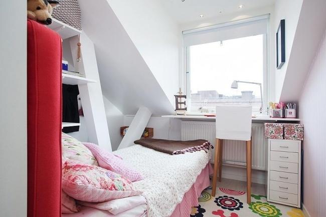 Como fazer um quarto confortável no sótão
