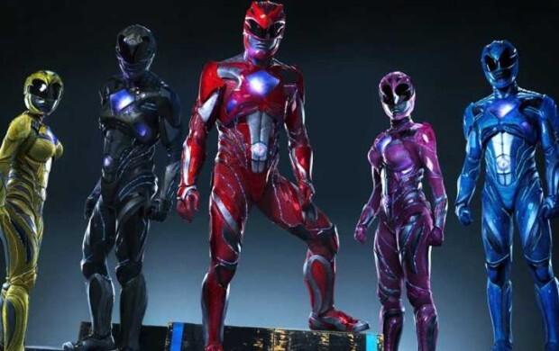 """Os novos """"Power Rangers""""."""
