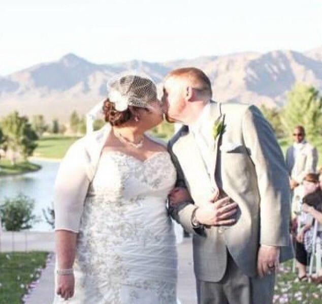 Shannon em seu casamento