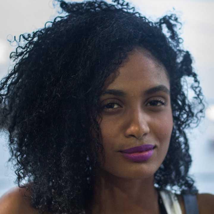 A estudante e ativista Stephanie Ribeiro
