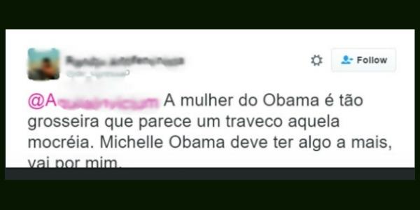"""""""Transfobia atinge até Michelle Obama, minha gente"""", diz o Tumblr"""
