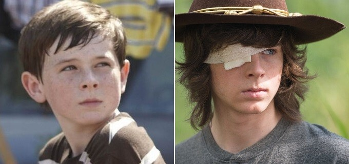 Carl, interpretado por Chandler Riggs