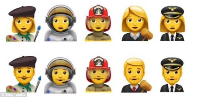 Novos emojis que chegarão ao iPhone.