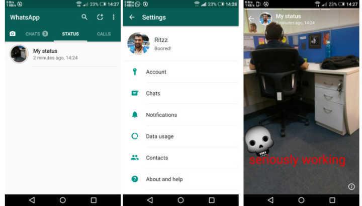 """Novo recurso flagrado no WhatsApp é """"clone"""" do"""