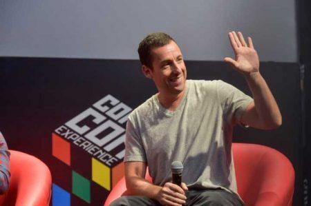 Adam Sandler foi um dos convidados internacionais de 2015