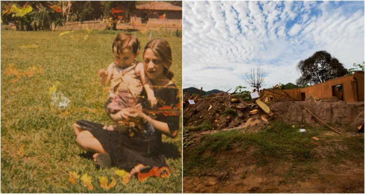 Antes e depois em Mariana