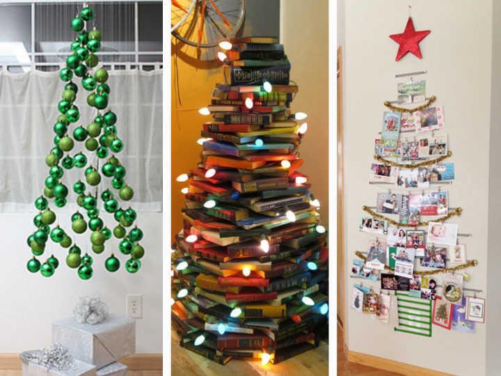 10 árvores de Natal diferentes que você pode fazer em casa