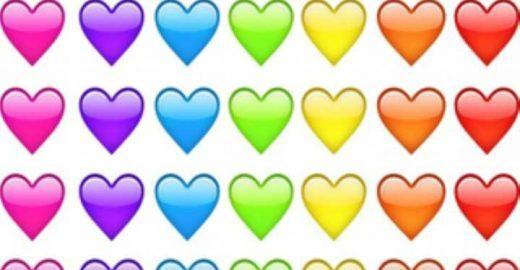 Segura esta: os emojis de coração têm traduções diferentes