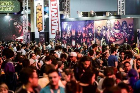 Esse ano a CCXP espera mais de 180 mil visitantes