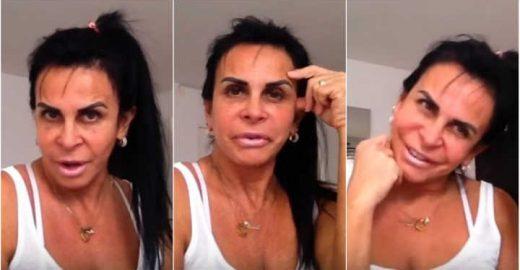 Gretchen arrasa no francês e desabafa sobre bullying em vídeo