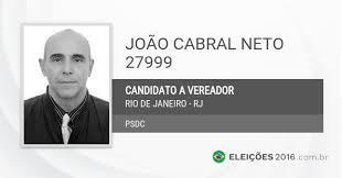 João Cabral não foi reeleito nesta eleição