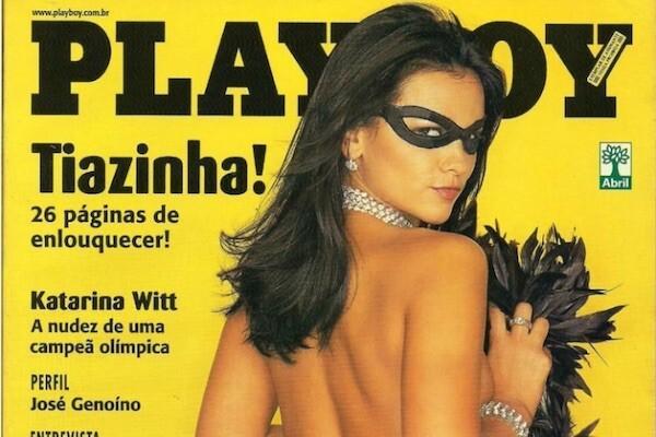 """Suzana Alves como a personagem """"Tiazinha"""""""