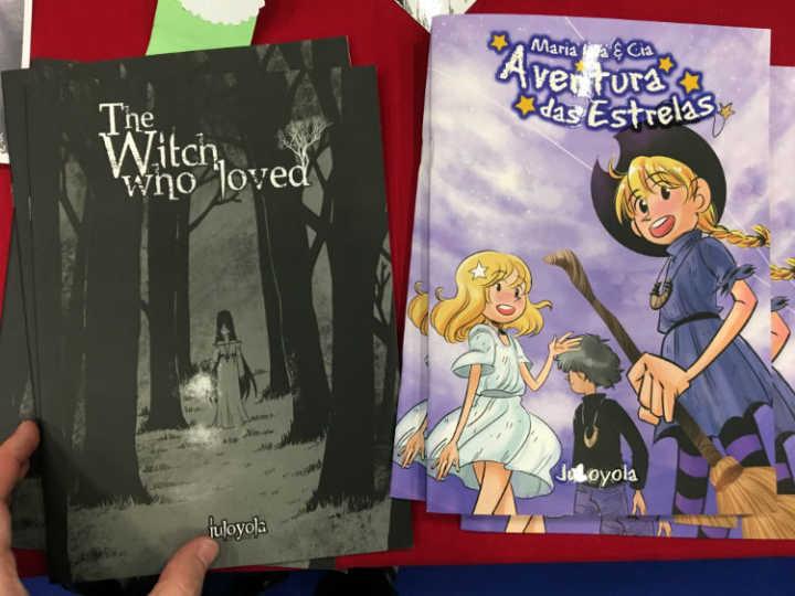 """Depois da HQ de terror """"The Witch Who Loved"""", a artista lança """"Aventura nas Estrelas"""" na CCXP."""