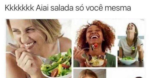 Meme da salada engraçada é a prova de que 2016 valeu a pena