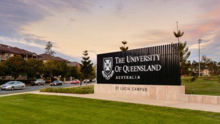 Entrada da Universidade de Queensland