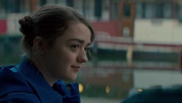 """A atriz Maisie Williams em """"iBoy""""."""