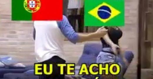 Brasil x Portugal: Quem vai vencer a guerra dos memes?