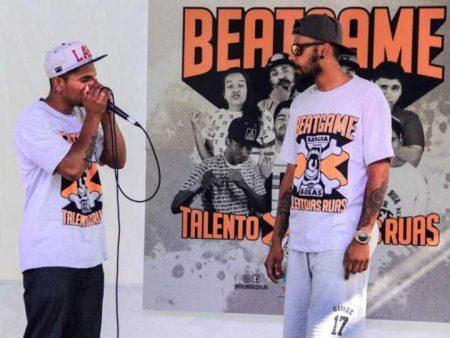 Batalhas de beatbox tomam conta do Largo da Batata - photo#42