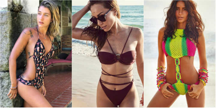 Gabriela Pugliesi, Sabrina Sato e Thaila Ayala usam biquíni hit do verão