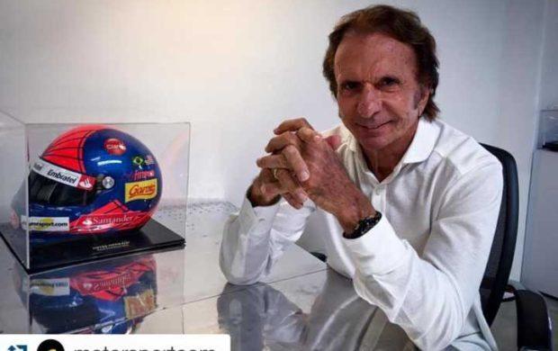 O ex-piloto de F1 Emerson Fittipaldi