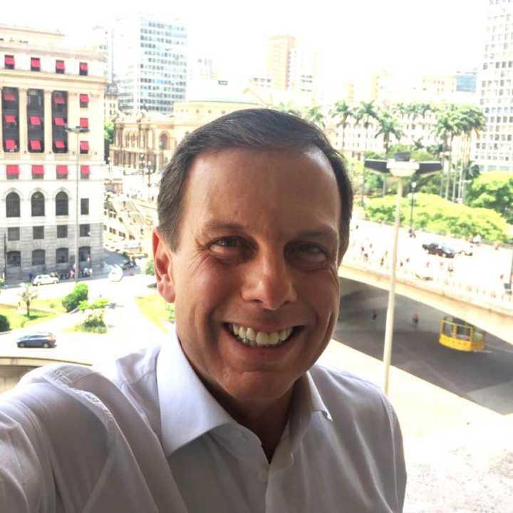 O prefeito João Doria