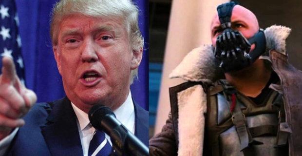 Trump e Bane: devolvendo o poder para o povo.