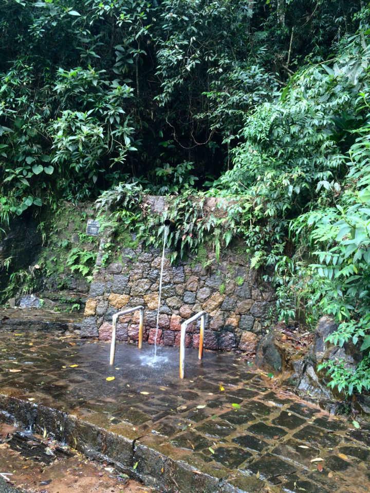 Paineiras tem visual incrível, fresca e com algumas quedas d'água