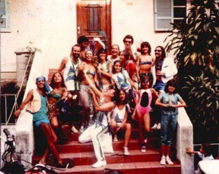 A primeira formação do bloco em 1986