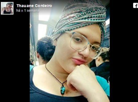 Devido ao câncer recentemente diagnosticado, Thauane recorrer ao uso de turbantes para aumentar auto estima