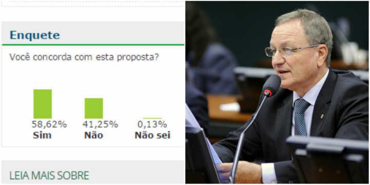 Proposta que legaliza caça de animais é do deputado Valdir Colatto
