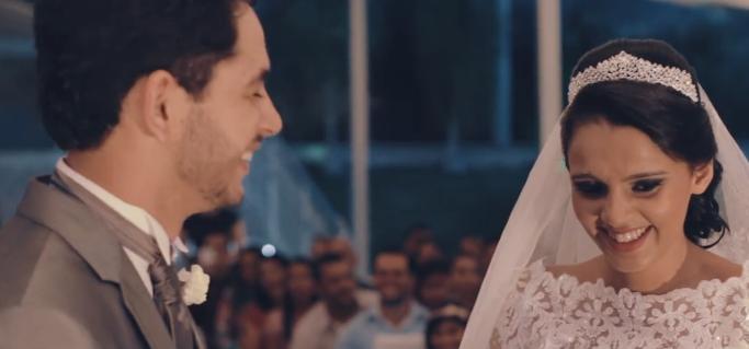 Noiva tem reação inesperada durante cerimônia e igreja gargalha