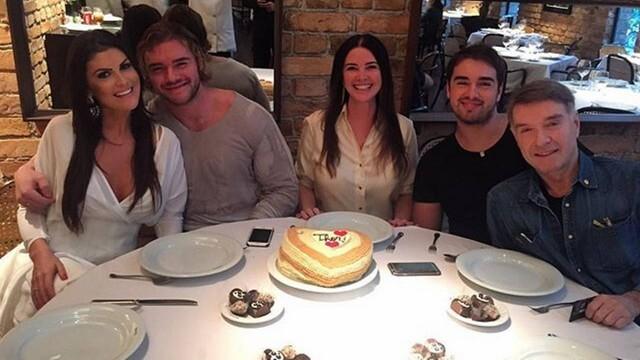 Luma de Oliveira e Eike Batista foram casados durante 13 anos e tiveram dois filhos