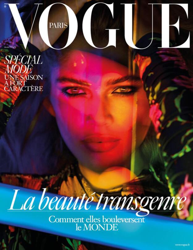 (Valetina Sampaio, cearense e primeira modelo trans na capa da Vougue)