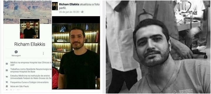 O neurocirurgião Richam Faissal Ellakkis