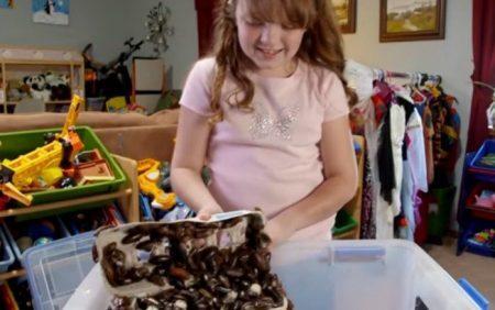 Após aparecer em um programa do canal TLC, Shelby Counterman, de 10 anos, ganhou fama mundial