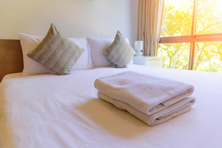 """2e1dc7c77e Está precisando de roupa de cama ou de toalhas novas  O e-commerce das  Lojas Americanas está com alguns produtos da linha """"Cama"""