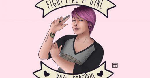 Kaol Porfírio, a ilustradora que luta como uma garota