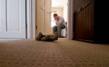 Resultado de imagem para Depressão pós-parto atinge 25 homens, revela estudo