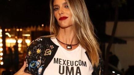 Fernanda Lima destaca mobilização dos homens em prol do feminismo