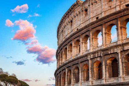 Que tal aprender italiano em um curso on-line e visitar o Coliseu de Roma falando o idioma local?