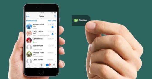 Chip com WhatsApp ilimitado acaba de chegar ao Brasil