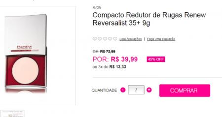 Reprodução/avon.com.br