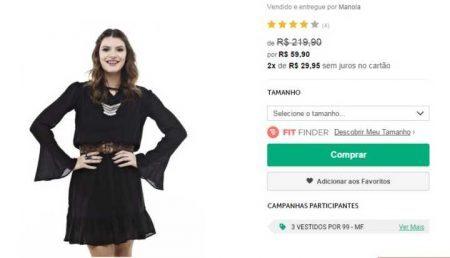 84c9cf471f1d9 Dia dos Namorados  loja virtual tem 70% OFF em roupas e calçados
