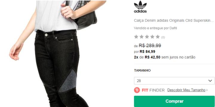 f78c18e786a Loja virtual tem roupas e acessórios da Adidas com até 70% OFF