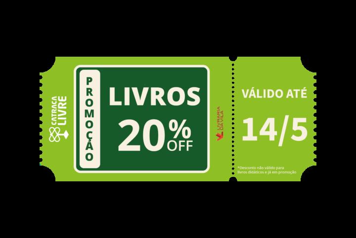 Leitores do Catraca ganham desconto de 20% na Livraria da Vila c33f03cb51fb9