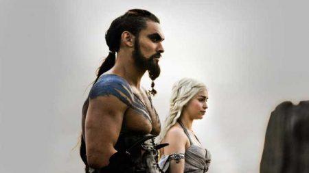 """Cena da série """"Game of Thrones"""""""